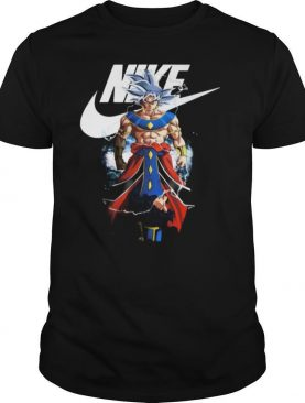 Dragon ball 7 songoku nike logo shirt
