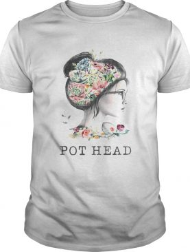Garden Flower Girl Pot Head shirt