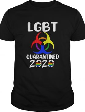 LGBT Quarantined 2020 shirt