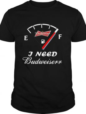 Run out of patience i need budweiser shirt