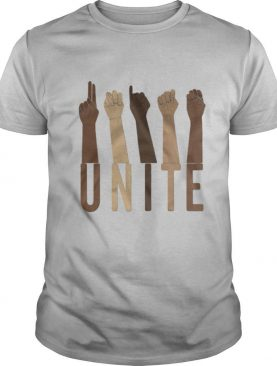Sign Language Unite shirt