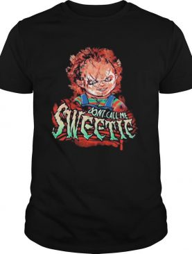 3 piece chunky zipper don't call me sweetie shirt