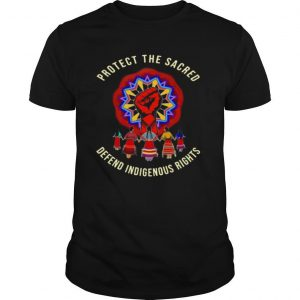 Protect The Sacred Defend Indigenous Rights shirt