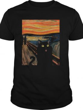 Cat Expressionism Painting shirt
