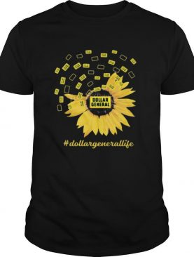 Dollar general life sunflower shirt