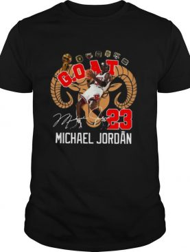 GOAT 23 Michael Jordan Signature shirt