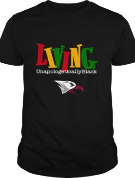 Living Unapologetically Black NNCU Eagles shirt