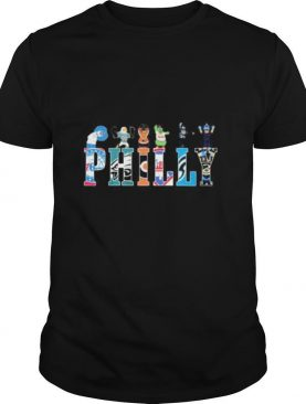 Philly logo sports city of champions shirt