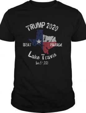 The Trump Lake Travis 2020 Boat Parade shirt
