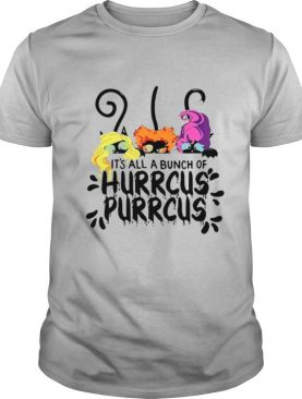 Cats It's All Bunch Of Hocus Purrcury shirt