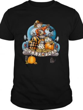 Halloween Hello Fall Dummy shirt