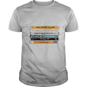 WuTang Sticker The Wu Tapes Hand Illustrated shirt