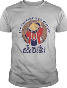 I Am Your Guide In The Realm Of Dungeons Dragons shirt