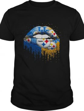 Pittsburgh Steelers And Kentucky Wildcats Lips shirt