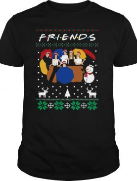 Friends And Snowman Christmas Ugly shirt