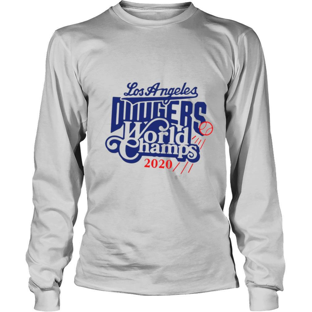 Los Angeles Dodgers World Champs 2020 shirt