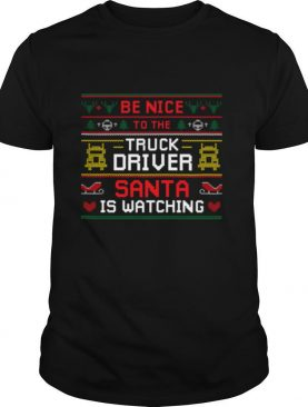 Santa Christmas Ugly Design For The Truck Drivers Ugly Sweater shirt