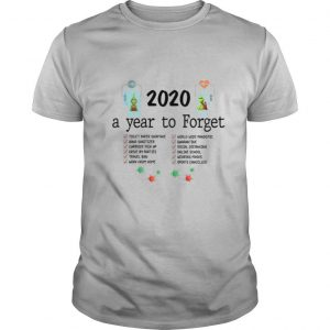 The Grinch And Max Toilet Paper 2020 A Year To Forget Coronavirus shirt