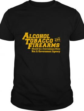 Atf alcohol tobacco and firearms shirt