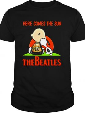 Here Comes The Sun The Beatles Snoopy Friend shirt