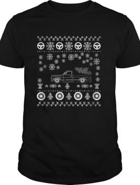 Tow Truck Ugly Merry Christmas shirt