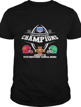 2021 iowa state cyclones champions state january 02 state stadium glendale arizona shirt